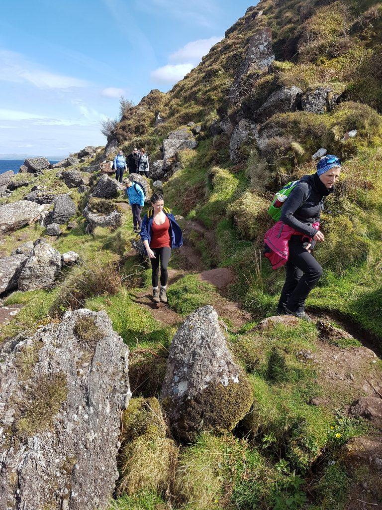 Arran Coastal Way Walking Adventure - Day 3 Corrie to Lochranza
