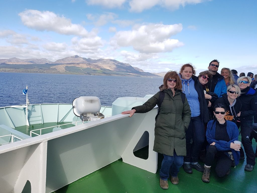 Arran Coastal Way Walking Adventure - Day 1 - Ferry from Ardrossan to Arran