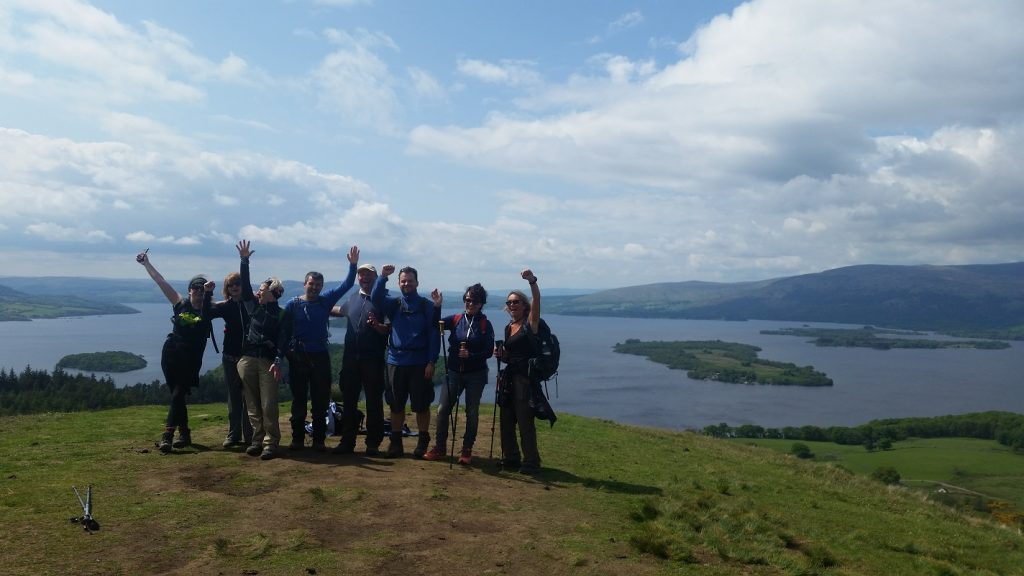 West Highland Way Walking Adventure - Day 2 - Drymen to Rowardennan via Loch Lomond
