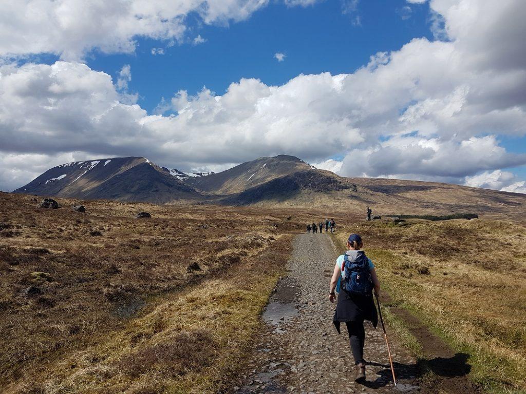 West Highland Way Walking Adventure - Day 5 -Tyndrum to Glencoe via Rannoch Moor
