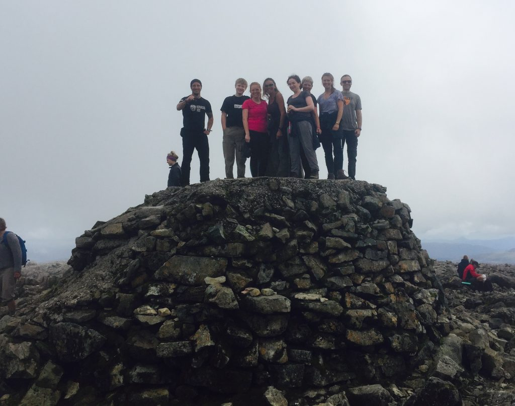 Day 8 - The highest mountain in the UK - optional ascent of Ben Nevis